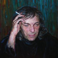 Portrait of the composer Nelko Kolarov, oils / canvas